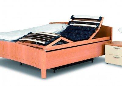 Doppelbett mit Kirchner Liftsystem + Liegefläche Senso