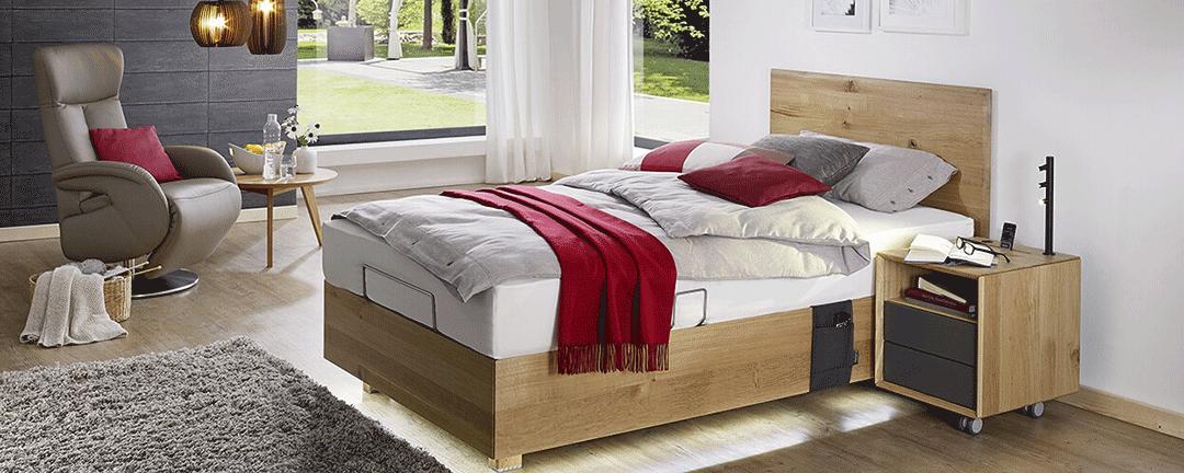 Einzelbett-Komforthoehe
